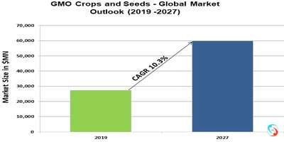 GMO Crops and Seeds - Global Market Outlook (2019 -2027)